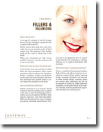 Fillers and Vollumizing Fact Sheet